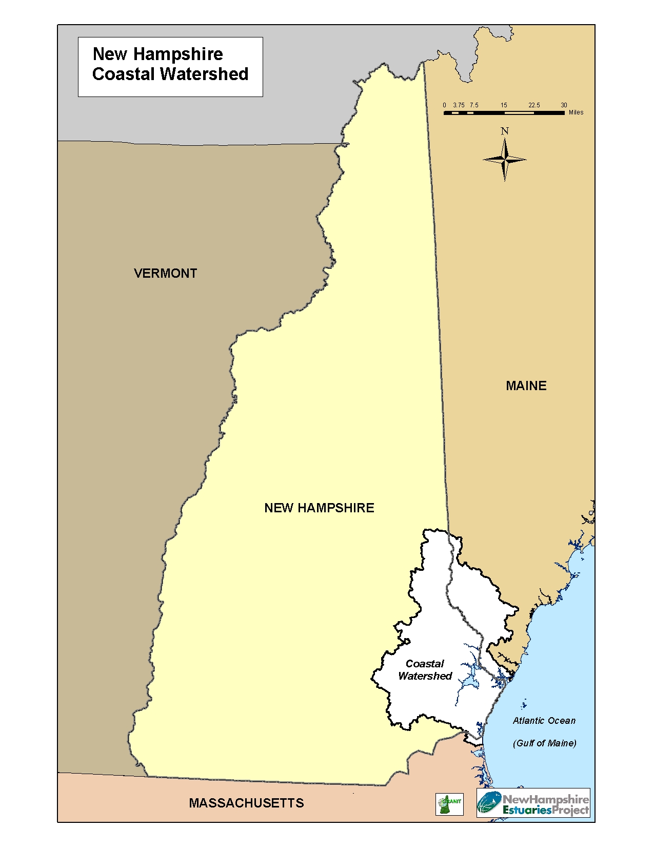 Maps | Piaqua Region Estuaries Partnership Durham Nh Map on
